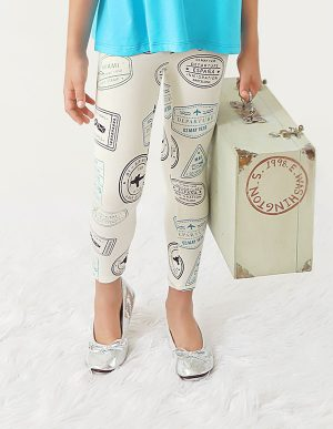 PASSPORT STAMPS LEGGINGS