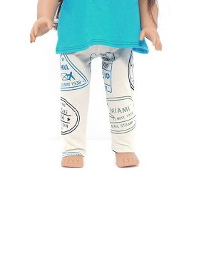 PASSPORT LEGGINGS DOLL