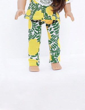 LEMON TEA LEGGINGS DOLL