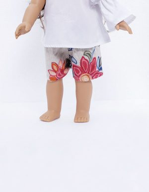 TEA PARTY SHORT DOLL