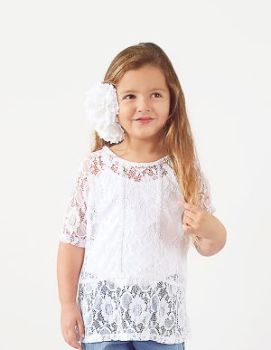 PURITY LACE TOP 14T