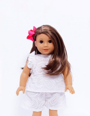 JAZMIN WHITE TOP DOLL