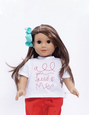TSHIRT ALL YOU NEED DOLL