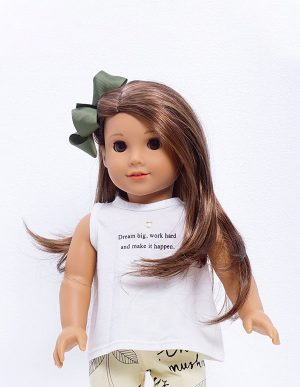DREAM BIG TSHIRT DOLL