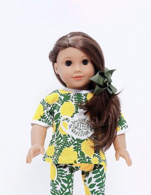 LEMON TEA TSHIRT DOLL