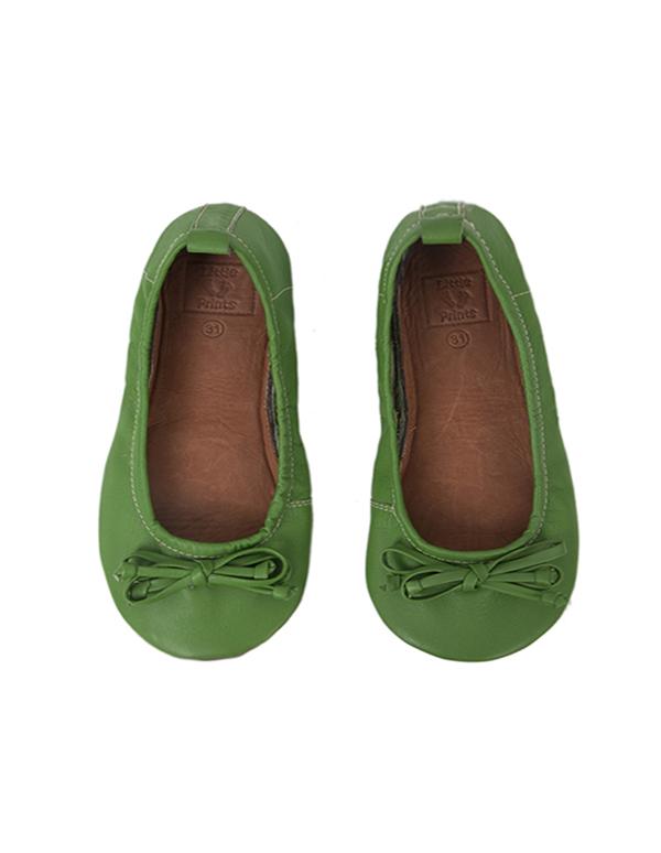 BALLET FLATS GREEN