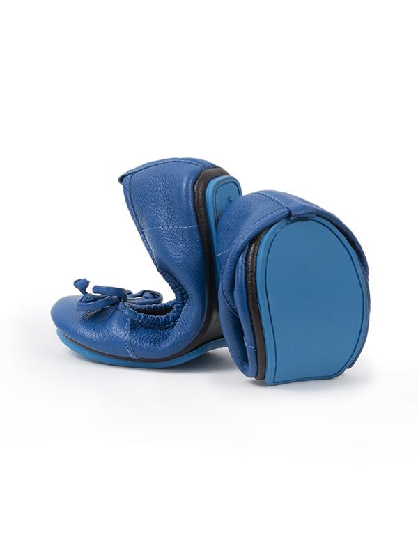 BALLET FLATS BLUE 27T