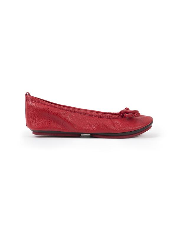 BALLET FLATS RED 34T
