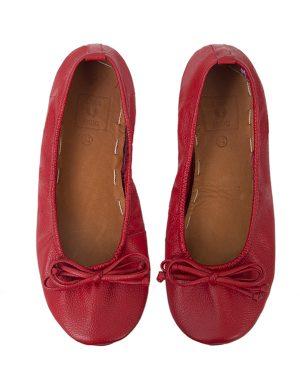BALLET FLATS RED 40T