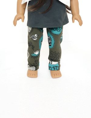 TEA TIME LEGGINGS DOLL