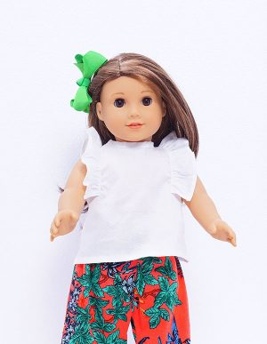 RUFFLES SUMMER TOP DOLL