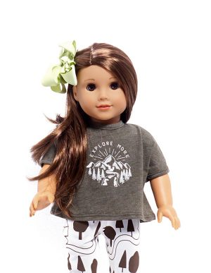 EXPLORE MORE TSHIRT DOLL