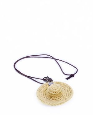 NECKLACE HUT YELLOW