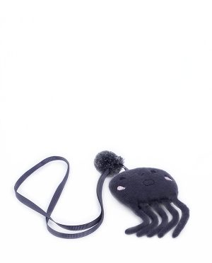 NECKLACE OCTOPUS GRAY