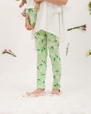 DAISY FLOWER LEGGINGS 14T